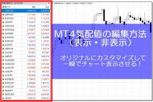 MT4気配値の解説