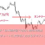 MT4チャートに文字を入力するテキストツール|日本語表示できない時の解決方法