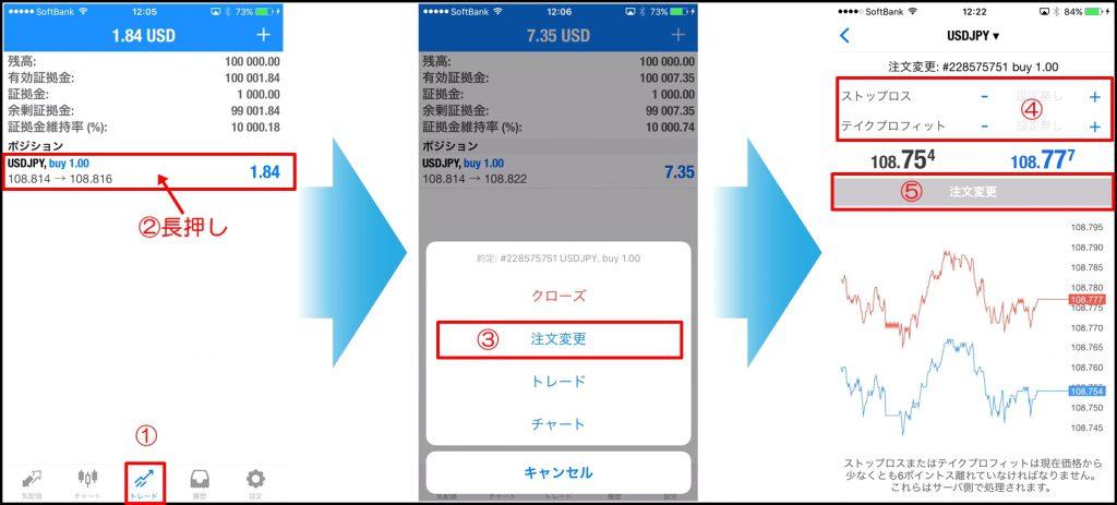 MT4スマホアプリの注文方法を全て解説