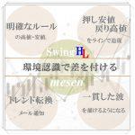 MT4インジケーター【mesen】高値と戻り高値・安値と押し安値・明確なトレンド転換点を表示