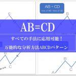 ハーモニックパターンの基本AB=CDの解説画像